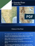 rio grande river presentation