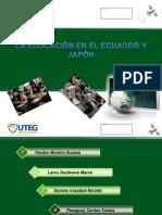 Estudio Comparativo Ecuador - Japon