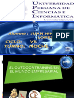 El Outdoor Training en El Mundo Empresarial
