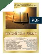 Articoli sulla Bibbia
