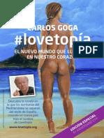 lovetopía - cartel DIN A4