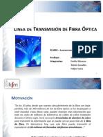 Línea de Transmisión de Fibra Óptica