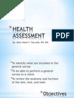 Health assessment - General Survey