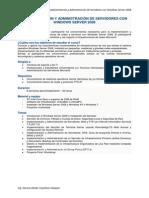Implementación y Administración de Servidores Con Windows Server 2008