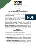 Reglamento Delimitacion de Circunscripciones