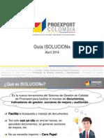 Guía ISOLUCION