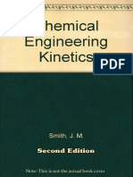 Chemical Engineering Kinetics, Second Edition