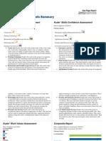 career assessment courtney