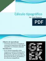 4 Calculo Tipografico(4clase)