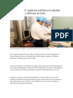 04/05/14 igabe Mantiene SSO vigilancia sanitaria en plantas purificadoras y fábricas de hielo