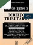 00217 - Questões Objetivas de Direito Tributário
