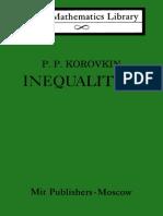 Korovkin Inequalities LML