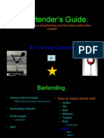 A Bartender's Guide powerpoint1