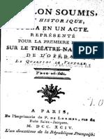 Fabre d Olivet Antoine - Toulon Soumis