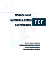 Manual Para La Escuela Dominical
