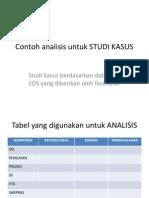 Contoh Analisis Untuk STUDI KASUS