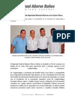 04-05-14 Gira de trabajo del diputado Manuel Añorve en la Costa Chica