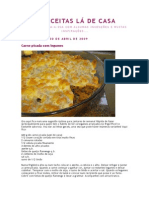 Carne Picada Com Legumes_As Receitas Lá de Casa