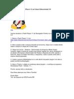 Atualizando o Flash Player 11 No Linux Educacional 3