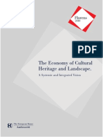 The Economy of Cultural Heritage and Landscape. A Systemic and Integrated Vision