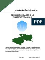 Premio Michoacano a La Competitivadad