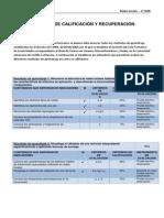 Criterios de Calificación y Recuperación Smr