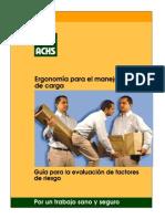 Manual Ergocargas