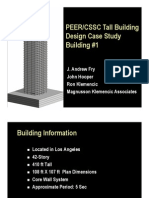 LATBSDC PEER CSSC Tall Building Design Case Study 1-05-09