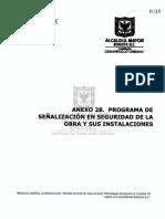 Programa Señalizacion