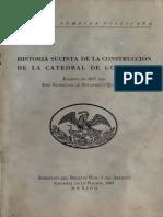 Betanzos y Quiñonez - Historia Sucinta de La Construccion de La Catedral