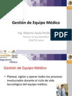Gestion de Equipo BioMedico