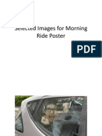 Selected Images for Morning Ride Double Page Spread