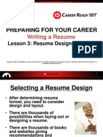 rw resume design layout presentation lesson3
