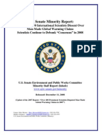 Inhofe's Anti-global Warming Report