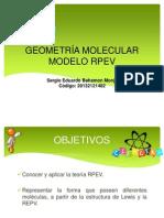 Sergio Eduardo Bahamon Monje 20132121482 Geometria Molecular
