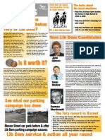 High Barnet LibDem Focus Leaflet 45