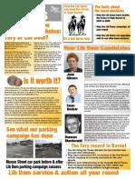 High Barnet LibDem Focus Leaflet 45