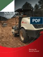 Ingersoll Rand Roller SD70F Brochure