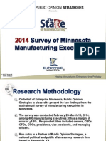 2014 State of Manufacturing- Pollster's Powerpoint