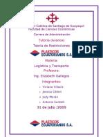 avance tutoria logistica