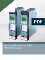 Catalogo Siprotec 7sj80