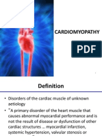 Cardiomyopathy ,definition ,etc