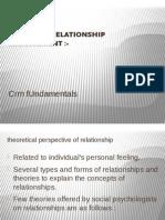 CUSTOMER RELATIONSHIP MGMT. Fundamentals