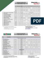 2013 Inixindo Jakarta Schedule