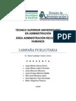 EJEMPLO DE CAMPAÑA PUBLICITARIA