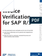 3a  Complete Guide for Invoice Verification (Including configuration)