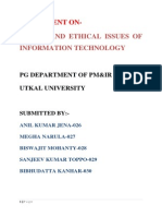 188320597 1 Ethical and Social Issues in Information Systems