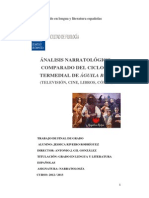 Análisis Narratológico Comparado Del Cinco Intermedial de Águila Roja