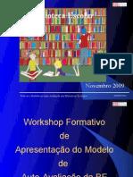 Workshop Formativo Modelo AA Da BE