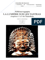 Abhinavagupta - La Lumière sur les Tantras, chapitres 1 à 5 du Tantraloka (Silburn and Padoux edition).pdf